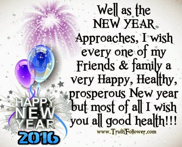 happy new year everyone and like it says i wish you all good health and hope that 2016 is a year closer to beating cancer brian