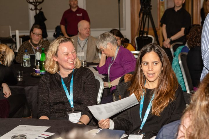 Photos of excellence in research event