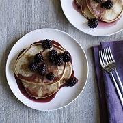 James Martin Blackberry & Maple Syrup Pancakes
