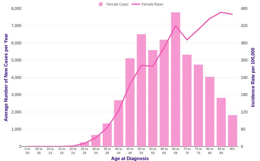 breast cancer statistics 2017