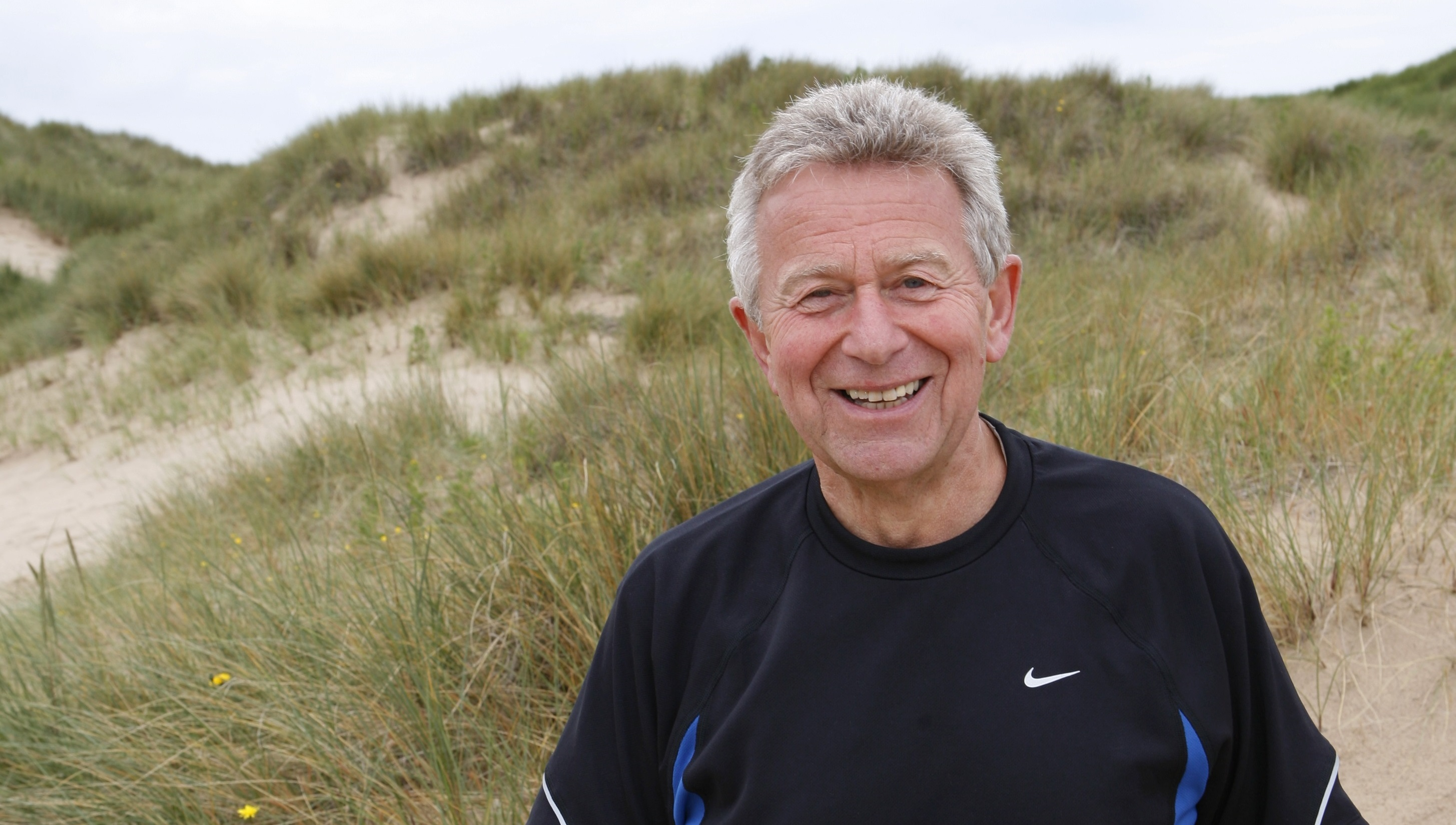 Bowel cancer patient Clive