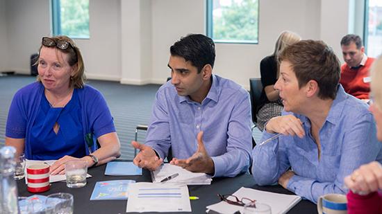 Delegates at a Faculty workshop