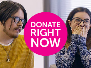 Donate right now