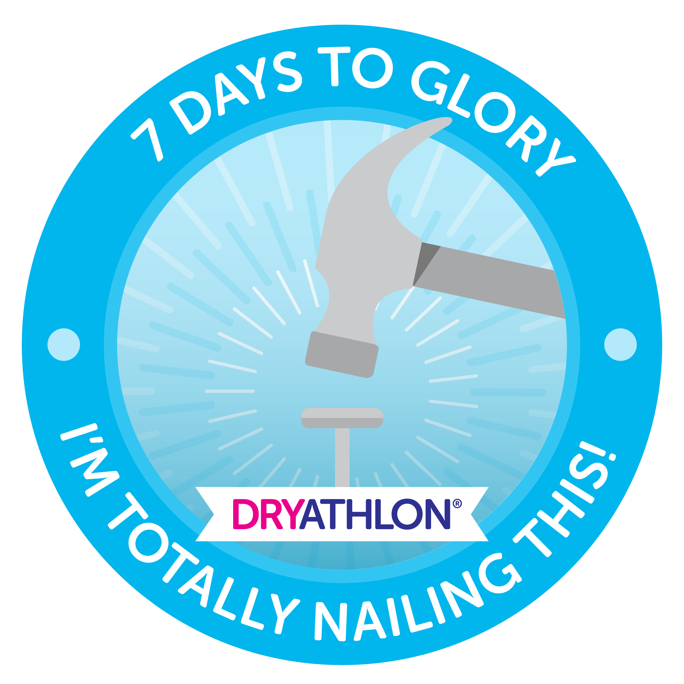 7 days to glory badge
