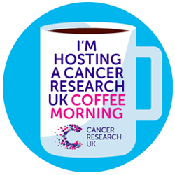 Coffee Morning social badge (blue) thumbnail