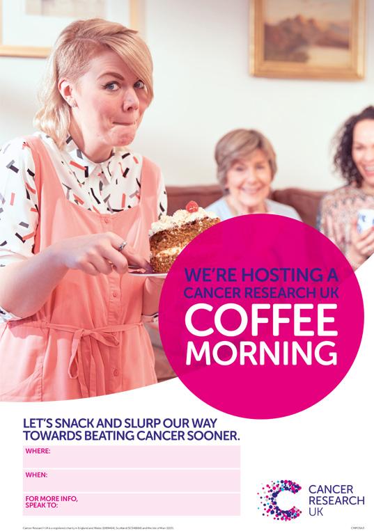 Coffee Morning poster version 2 thumbnail