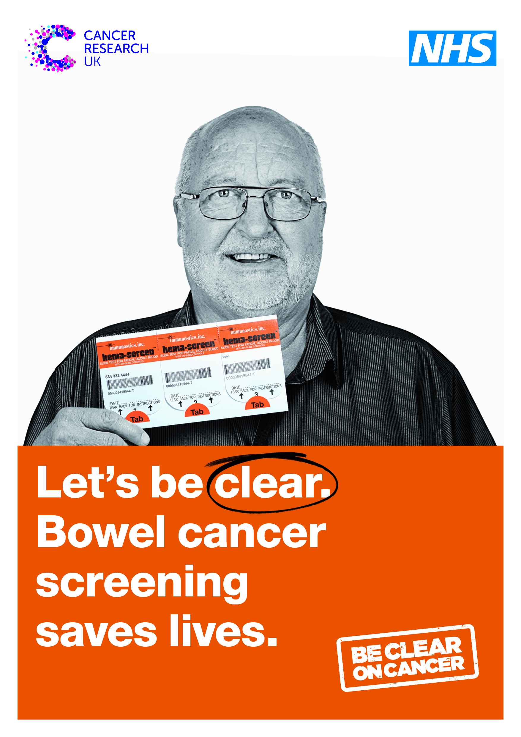 Bowel screening information leaflet
