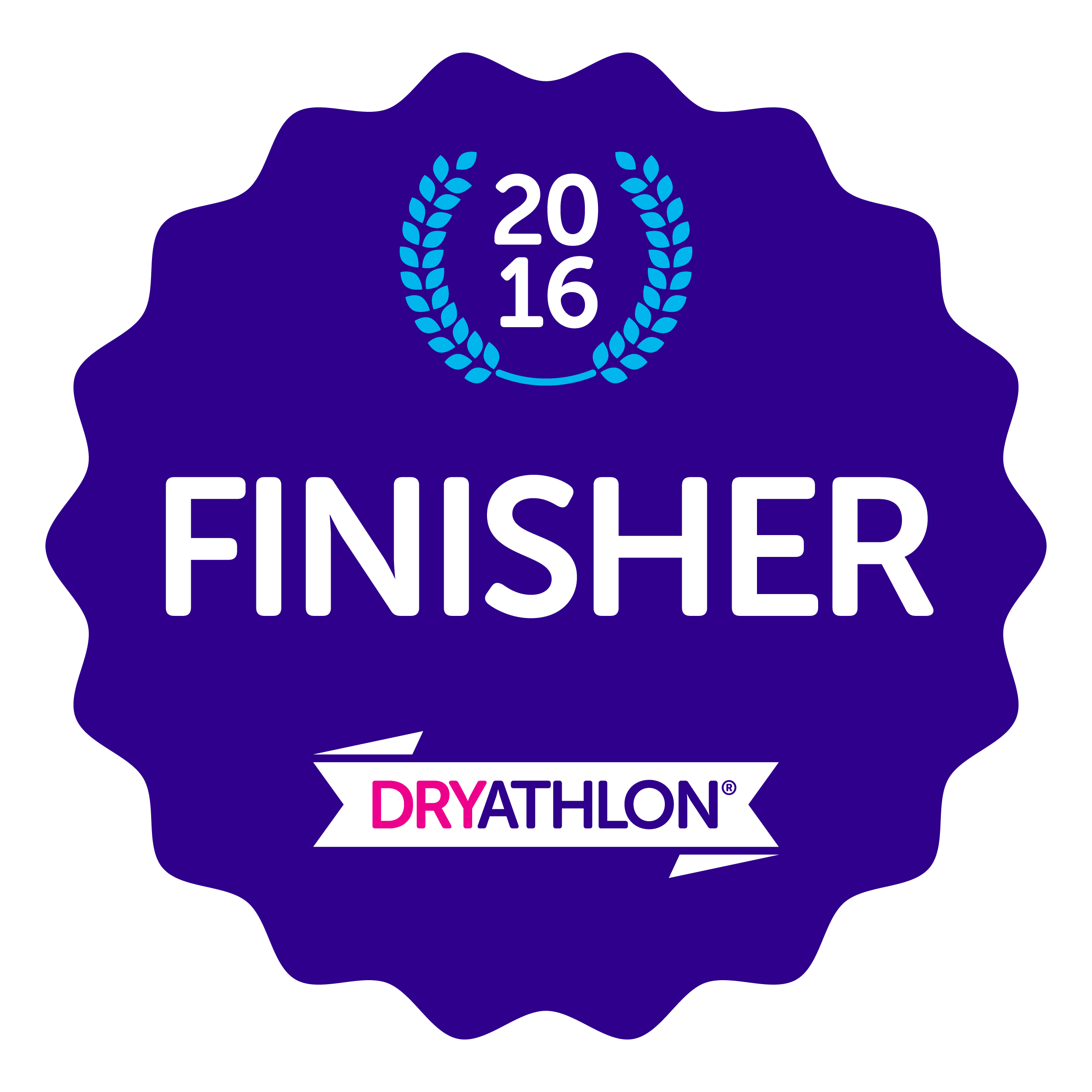 Finisher badge