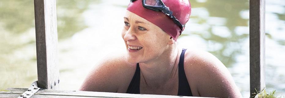Fundraiser swimming