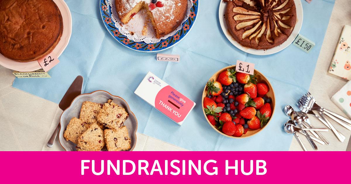 Coffee Morning fundraising hub