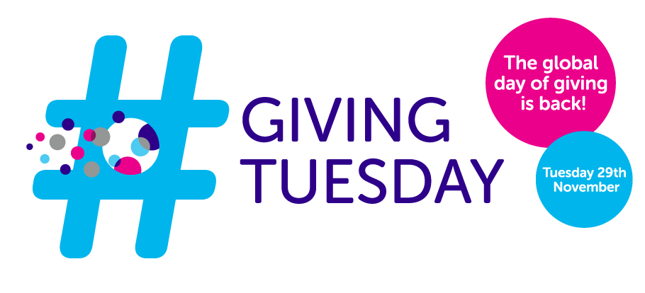 Giving Tuesday, the global day of giving is back this Tuesday 29th November
