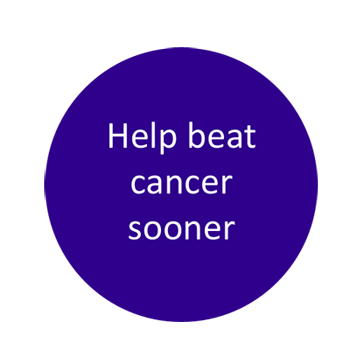 Help beat cancer sooner