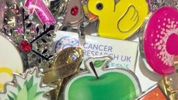 Charity pin badges
