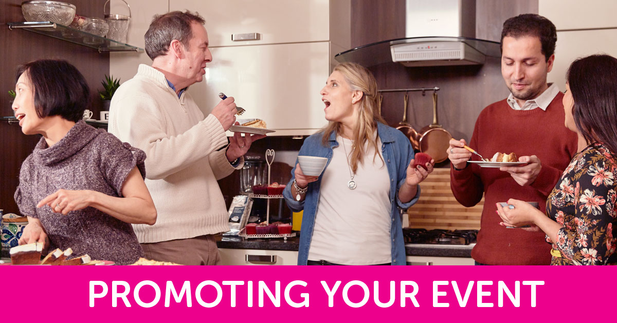 Coffee Morning promoting your event