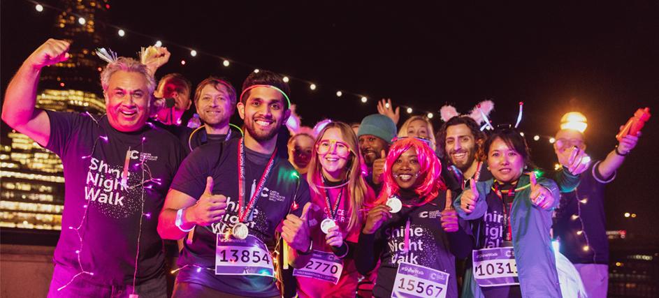 Shine Night Walk Charity Marathon And 10k Walks Across The UK