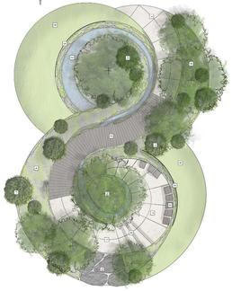 Cancer Research UK Legacy Garden design plan