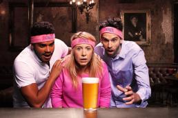 Dryathletes resisting alcohol