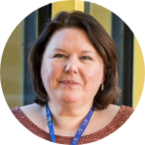 Photograph of Karen Turner, Cancer Research UK senior research nurse