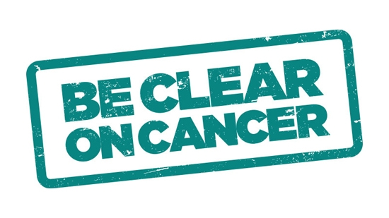 Be Clear on Cancer - Ovarian campaign logo