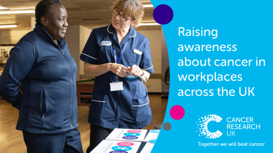 Cancer awareness in the workplace header image