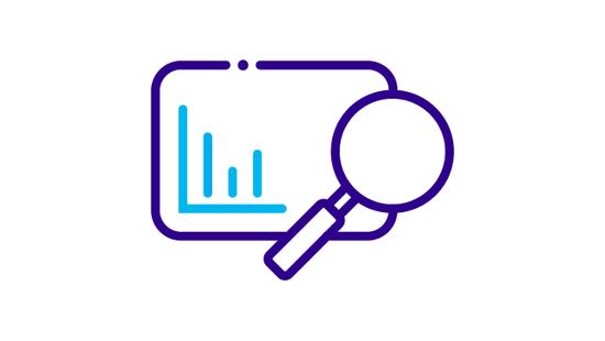 Data and statistics icon