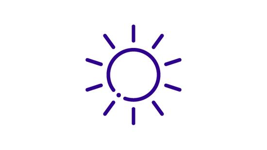 Sun Prevention Icon