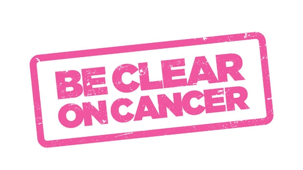 Be Clear on Cancer logo breast cancer in women over 70 campaign