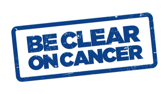 Be Clear on Cancer - Skin campaign logo