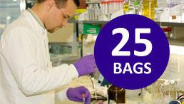 25 bags