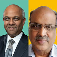 Lead applicants Arnie Purushotham and Rengaswamy Sankaranarayanan
