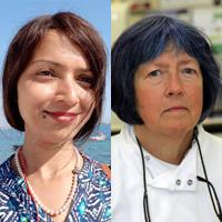 Lead applicants Asima Mukhopadhyay and Nicola Curtin