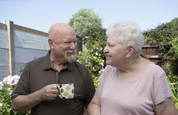 Barry, a pledger and his wife