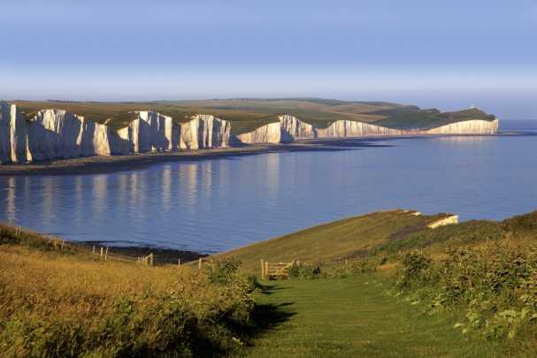 Seaview across South Downs