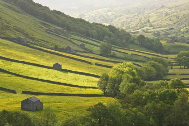 Hills in the Yorkshire Dales