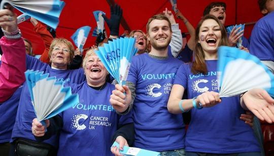 Cheering Team Volunteers