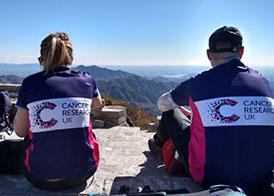 Cancer Research Great Wall of China