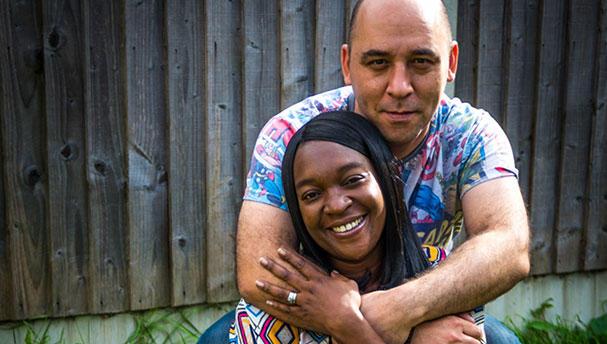Bowel cancer patient Clive