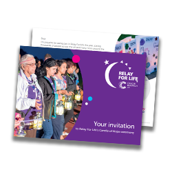 Candle of Hope invite