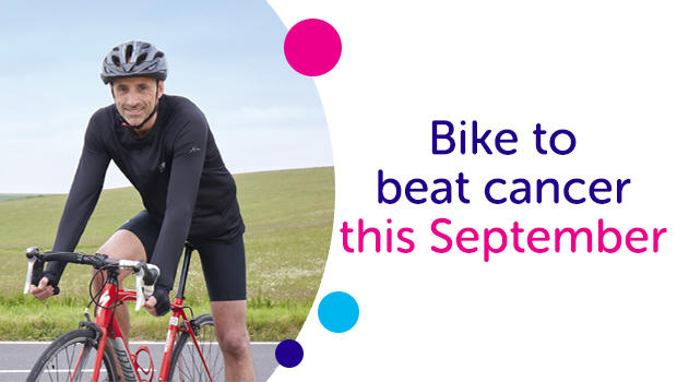 Bike to beat cancer this September.