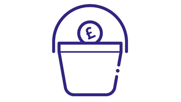Donation bucket