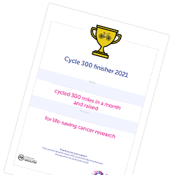 Cycle 300 certificate