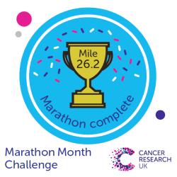 Mile 26.2 - Marathon Month Challenge