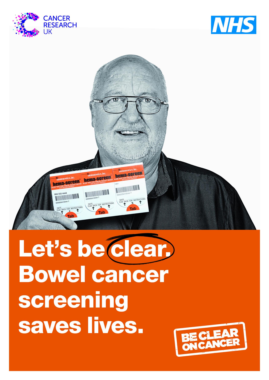 Bowel screening information leaflet