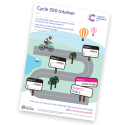 Cycle 300 always on totaliser poster