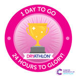 Dryathlon 2017 1 day to go badge thumbnail