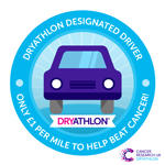 Dryathlon 2017 Designated driver badge thumbnail