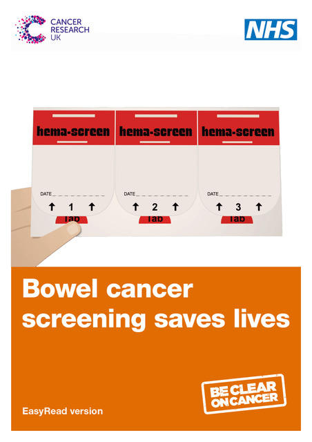 bowel cancer screening kit how to use