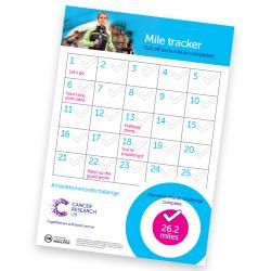 Marathon Month Challenge mile tracker