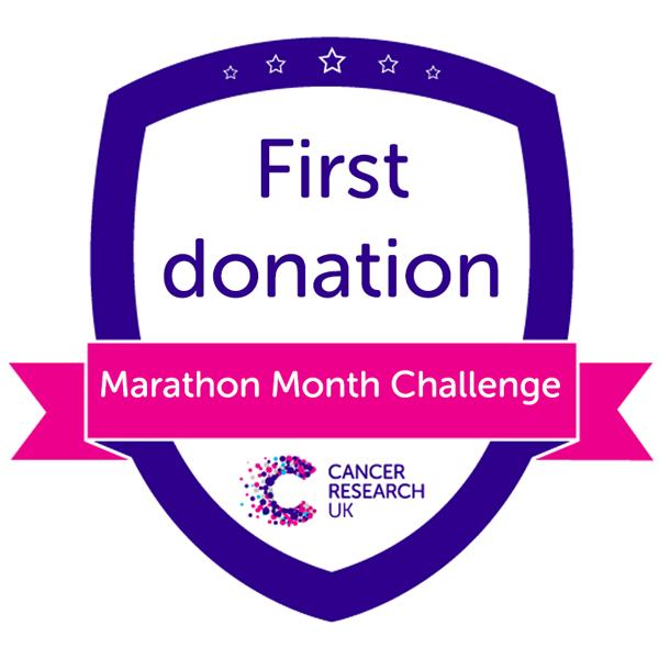 Marathon Month First Donation Badge