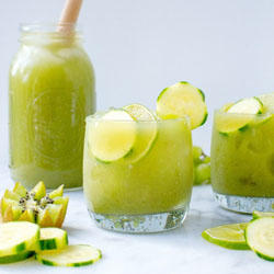 Cucumber Mint Fruit Cooler